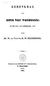 Gedenkdag der zege van Waterloo; op den 18den van zomermaand, 1817