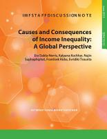 Causes and Consequences of Income Inequality PDF