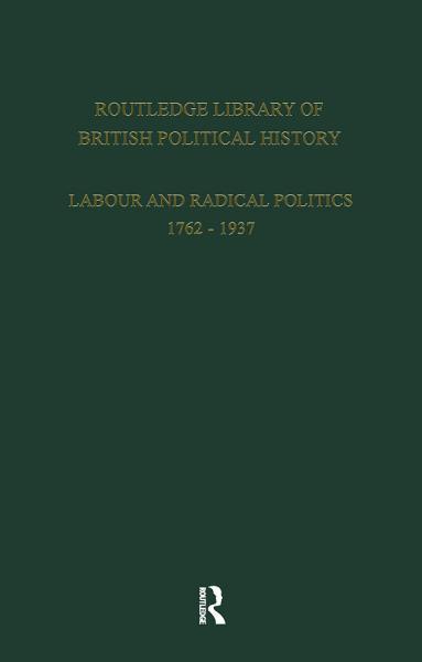English Radicalism (1935-1961)