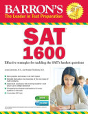 Barron S Sat 1600 With Cd Rom Book PDF