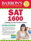 Barron s SAT 1600 with CD ROM