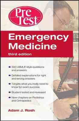 Emergency Medicine PreTest Self Assessment and Review  Third Edition PDF