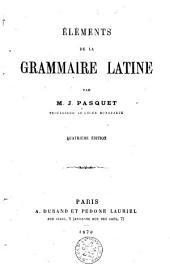 Éléments de la grammaire latine