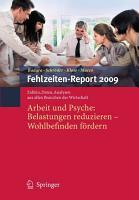 Fehlzeiten Report 2009 PDF