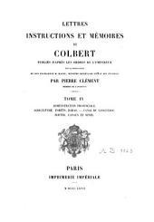 Lettres, instructions et mémoires: Volume4