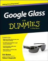 Google Glass For Dummies PDF
