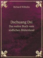 Dschuang Dsi PDF