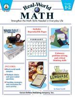 Real World Math  Grades 1   2 PDF