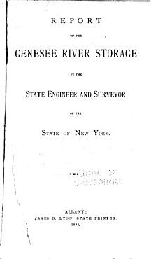 Report on the Genesee River Storage PDF