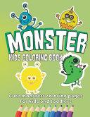 Monster Kids Coloring Book