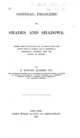 General Problems of Shades and Shadows PDF