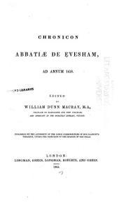 Chronicon abbatiae de Evesham, ad annum 1418