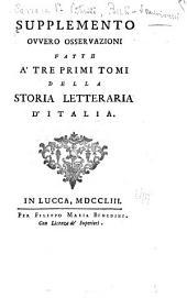 Storia Letteraria D'Italia: Volume 10
