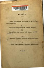 Philosophorum de antinomia necessitatis et contingentiae doctrinae: Part 1