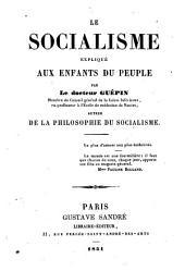 Le socialisme expliqué aux enfants du peuple