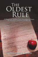 The Oldest Rule PDF