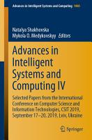 Advances in Intelligent Systems and Computing IV PDF