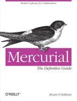 Mercurial  The Definitive Guide PDF