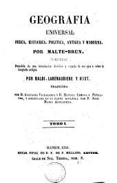 Geografia universal fisica, historica, politica, antigua y moderna