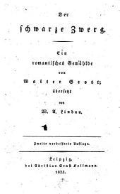 Der schwarze Zwerg: ein romantisches Gemählde, Ausgabe 6869