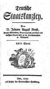 Hauptsacht. d. Mikrofiche-Ausg.: Teutsche Staatskanzley: Band 82