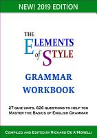 The Elements of Style  Grammar Workbook PDF