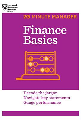 Finance Basics  20 Minute Manager Series