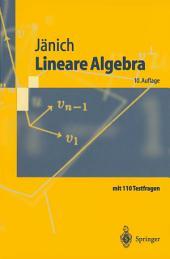 Lineare Algebra: Ausgabe 10