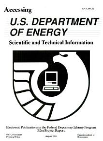 Accessing U S  Department of Energy Scientific and Technical Information PDF