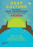Deaf Culture PDF