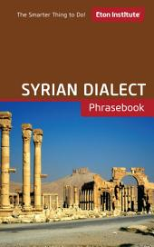 Syrian Dialect Phrasebook