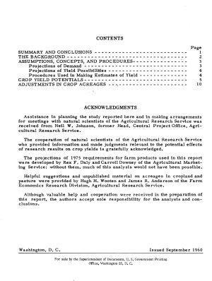Our Farm Production Potential  1975 PDF