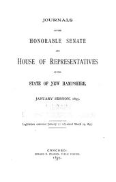 Journal of the House of Representatives of the State of New-Hampshire, at Their Session ...