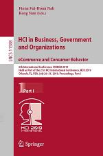 HCI in Business, Government and Organizations. eCommerce and Consumer Behavior