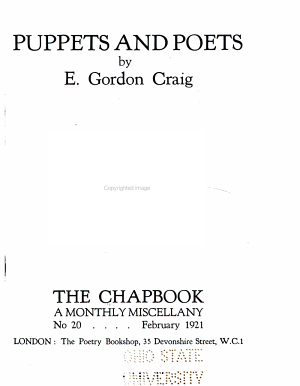 The Monthly Chapbook PDF