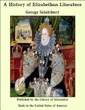 A History of Elizabethan Literature