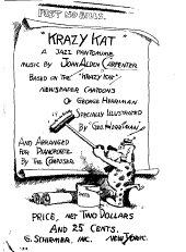 Krazy Kat: a jazz pantomime