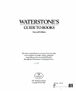 Waterstone's Guide to Books