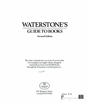Waterstone s Guide to Books PDF