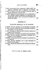 La symbolique; ou, Exposition des contrariétés dogmatiques entre les Catholiques et les Protestants, d'après leurs confessions de foi publiques: Volume1