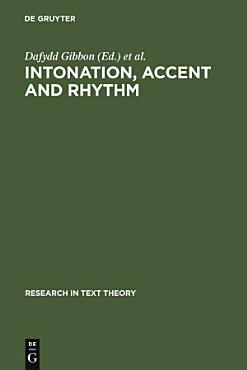 Intonation  Accent  and Rhythm PDF