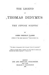 The Legend of Thomas Didymus: The Jewish Sceptic
