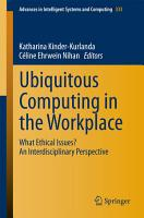 Ubiquitous Computing in the Workplace PDF