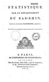 Statistique du département du Bas-Rhin
