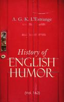 History of English Humor  Vol  1 2  PDF
