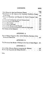 The History of the Episcopal Church in Connecticut, from the Settlement of the Colony to the Death of Bishop Seabury: Volume 2