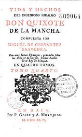 Vida y hechos del ingenioso Hidalgo Don Quixote de la Mancha, compuesta por Miguel de Cervantes Saavedra, con muy bellas estampas gravadas sobre los dibujos de Coypel... (y con la vida de el autor por Gregorio Mayans Siscar): Volumen 1