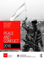 Peace and Conflict 2016 PDF