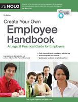 Create Your Own Employee Handbook PDF