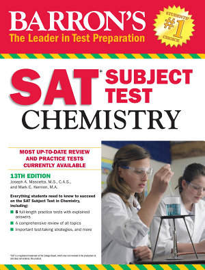 Barron s SAT Subject Test Chemistry  13th edition PDF